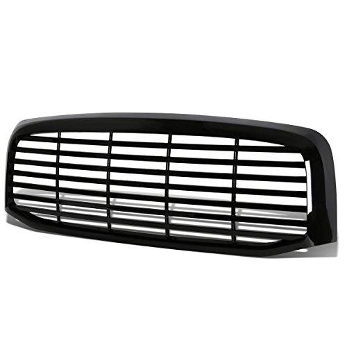 For Dogde Ram Glossy Black Billet Style Front Upper Bumper ()