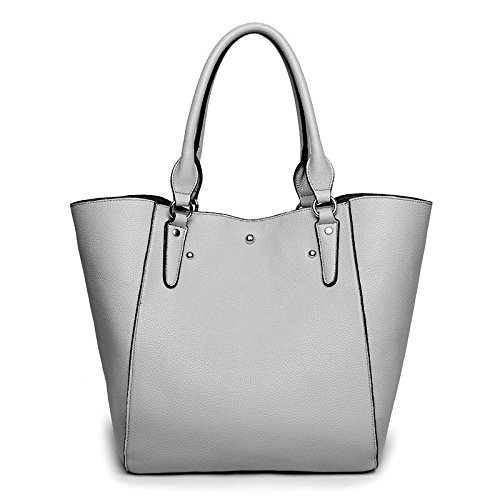 Guangzhou Women's American Shoulder Handbag European Gris And Bucket Fashion 2018 Slung Bag hlh Retro negro New f8rXf4