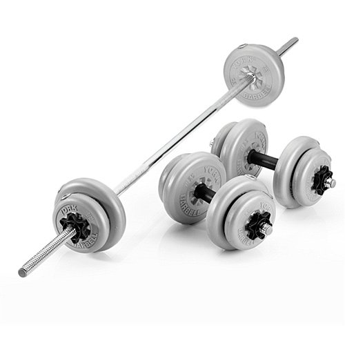 york weights. york 50kg spinlock vinyl barbell/dumbbell weights set: amazon.co.uk: sports \u0026 outdoors o