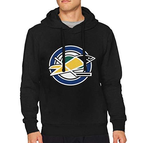 Sbbiegen886wo Men's California Golden Seals Hockey Comfortable Hooded Sweatshirt M -