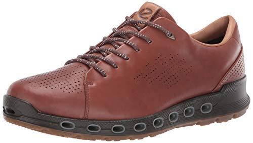 - ECCO Men's Cool 2.0 Leather Gore-TEX Sneaker, Mink Retro, 44 M EU (10-10.5 US)