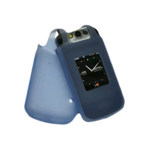 Xentris 60-2223-01-AL OEM BlackBerry Silicone Skin Case - Pearl Flip - Blue
