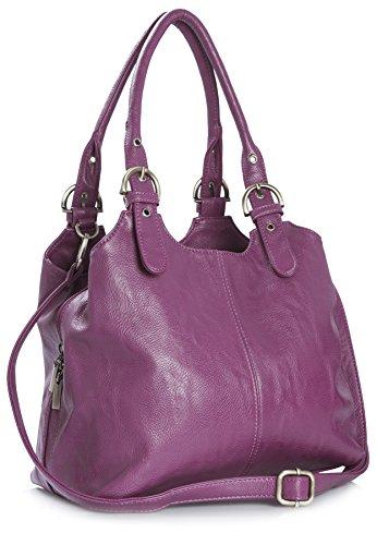 Big Sac Poches Et Longue Femme Bhbs Moyen Handbag Shop Bandoulière Violet De À Pour Adjustable Rangement Main Multiple Pratique tvHwvrqO