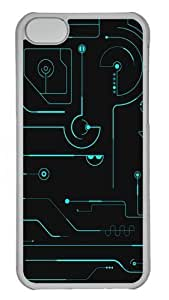 TYH - Circuit board Custom ipod Touch4 Case Cover Polycarbonate Transparent ending phone case