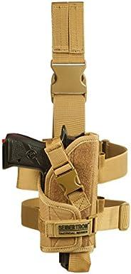 Seibertron Adjustable Tactical/Airsoft Hunting Right Handed Leg Pistol Gun Holster/Pouch Holder Drop Leg Thigh
