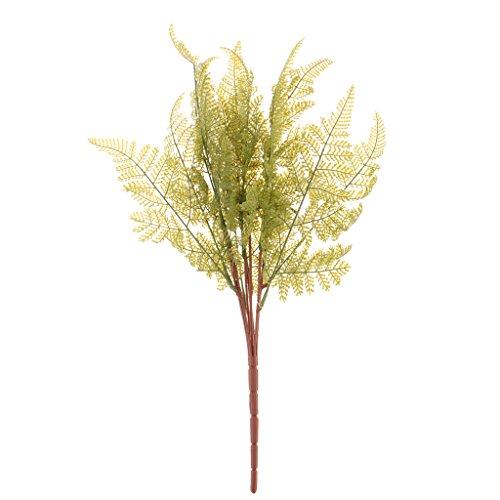 Homyl Bunch Artificial Green Leaves Olivine Vine Flower Garden Wedding Decoration - Olivine, 45cm