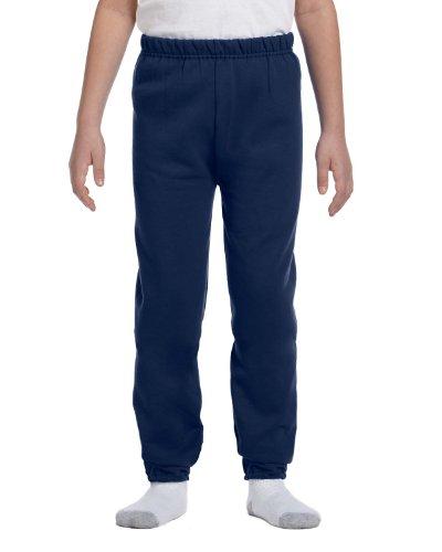 Jerzees Youth 8 oz., 50/50 NuBlend Sweatpants, XL, J NAVY ()