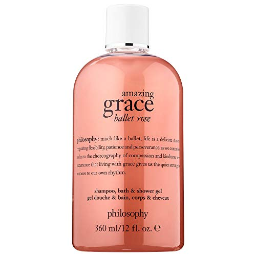 Philosophy Amazing Grace Ballet Rose Shampoo, Bath & Shower Gel 12 oz