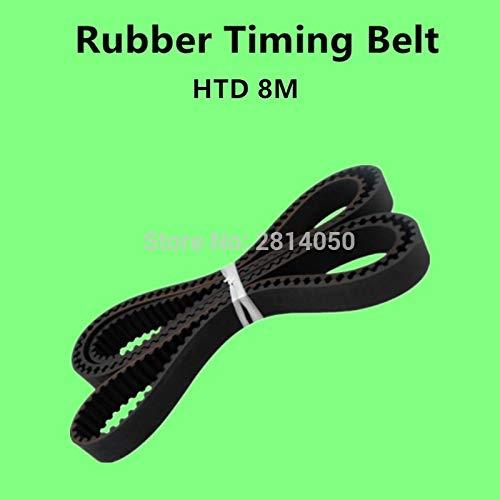D/&D PowerDrive 8PM3730 Metric Standard Replacement Belt Rubber