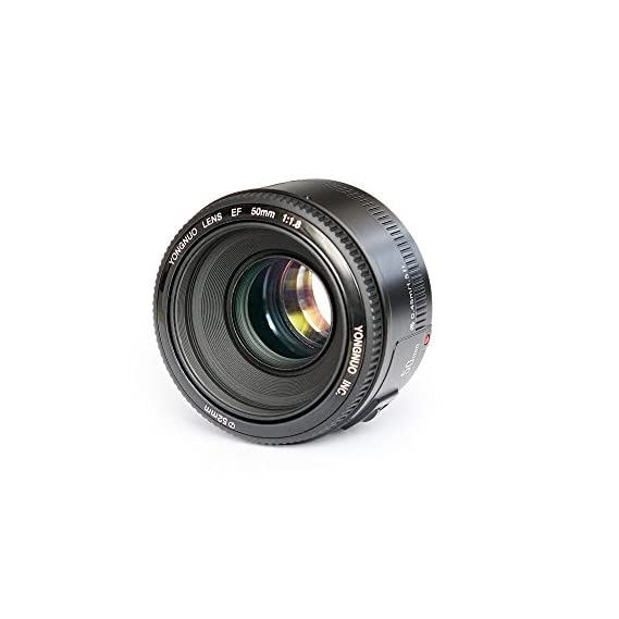 Yongnuo_ YN50 mm F1.8 Lens Large Aperture Auto Focus Lens for Canon EF Mount EOS Cameras
