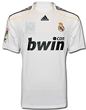 Adidas - REAL MADRID 1ª CAMISETA 09/10 color: Blanco talla: XL: Amazon.es: Deportes y aire libre