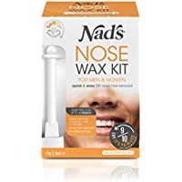 Nad's Nose Wax Kit for Men & Women for Quick & Easy Nose Hair Removal