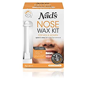 Nad's Nose Wax Kit for Men & Women – Waxing Kit for Quick & Easy Nose Hair Removal