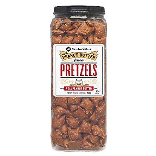 - Member's Mark Peanut Butter Filled Pretzels (44 oz.) (pack of 2)