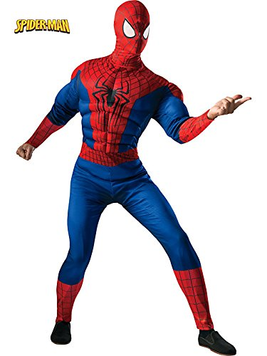 Adult Spider Man 2 Muscle Chest Costume