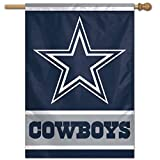Dallas Cowboys Official NFL 27' x 37' Banner Flag