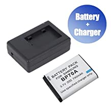 Battpit™ Battpit™ New Digital Camera Battery + Charger Replacement for Samsung ES73 (740 mAh) (Ship from Canada)