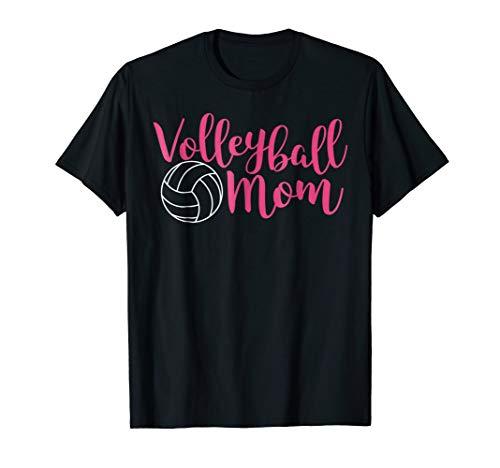 Volleyball Mom Shirt - Pink Volleyball Mom Shirt