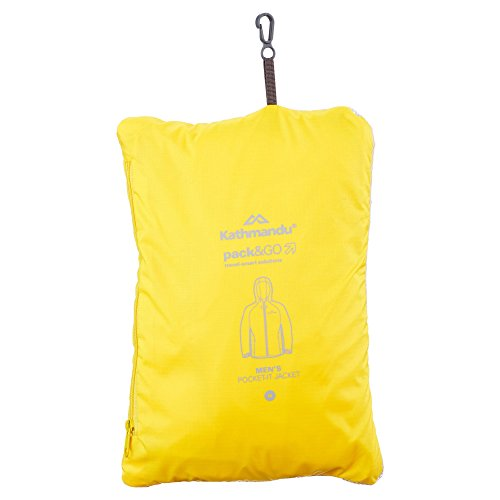 Uomo Impermeabile giacca Yellow Da Kathmandu V3 Pocket it 4OtXA