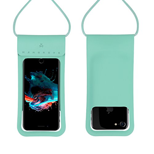 Holder Resistant Water (Waterproof Case Cell Phone Dry Bag for iPhone X Plus, 8, 8 Plus, 7, 7plus, 6, 6s, 6s Plus, Samsung Galaxy Note 8, S9, S8, S8 Plus, 5-6 Inch Water Resistant Phone Pouch, Key/Card Holder)