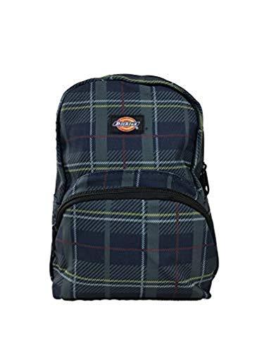 Dickies Mini Backpack (One_Size, Plaid Green/Blue)