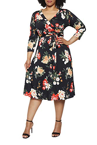 Pink Queen Plus Size Dresses 2019