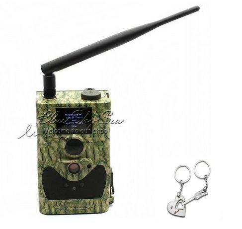 Bluskysea Free Gift Keychain  2015 ScoutGuard SG880MK-8M HD 720P GPRSMMS Trail Scouting Hunting Game Camera (SG880MK-8M cam only)