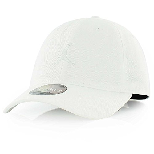 7636d613219 Nike Mens Air Jordan Floppy H86 Dad Hat Black/Black 847143-010 (WHITE