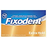 Fixodent Denture Adhesive Powder Extra Hold 2.70 oz
