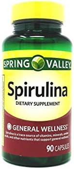 Spring Valley Spirulina 90 capsules