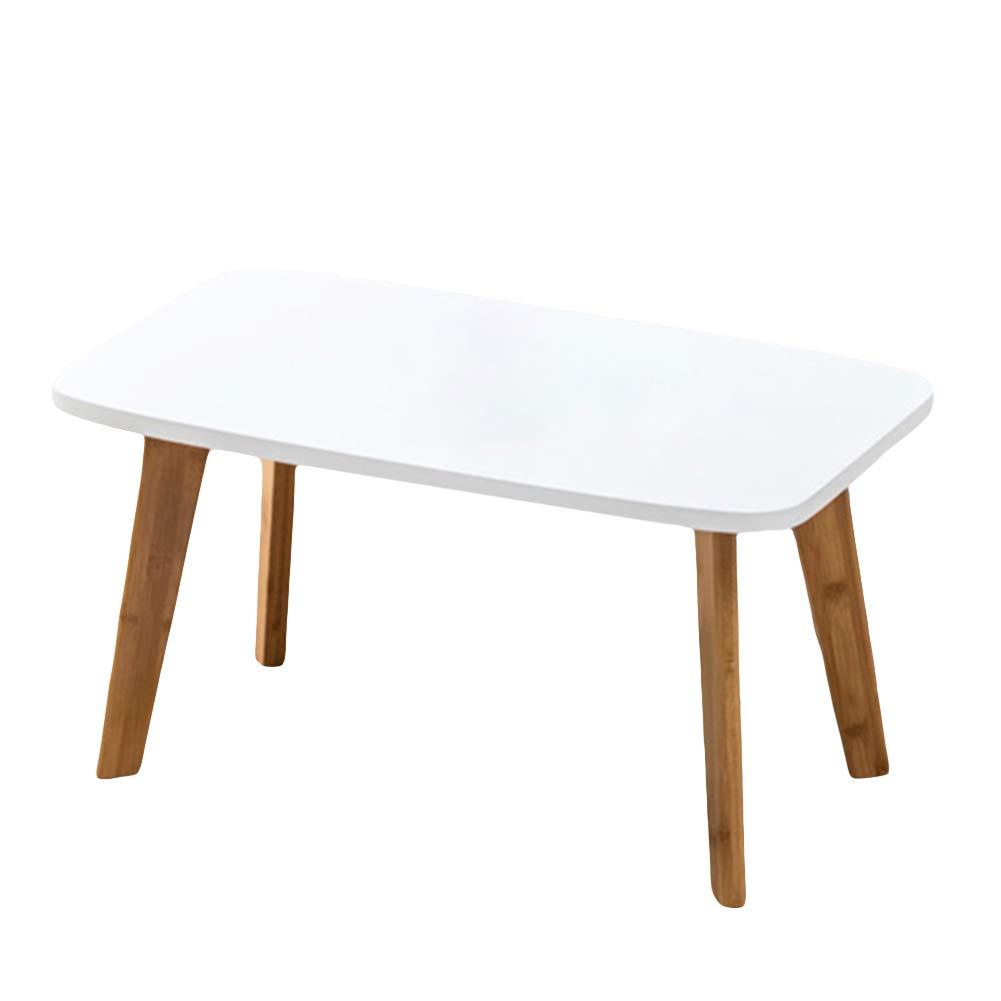 折り畳みテーブル& 家の白い机、学生のモバイルコンピュータの怠惰なテーブル、寝室のベッドのノートブックのテーブル (サイズ さいず : 70×42×34.5cm) 70×42×34.5cm  B07NQGMHP5