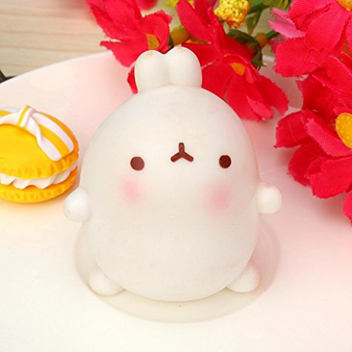 Cute Squishy Squeeze Healing Fun Kids Kawaii Toy (Rabbit)Stress Reliever Decor,By Gbell (#2)