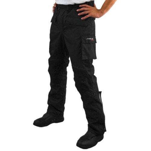 Roleff Pantalones para Motorista Racewear M Negro