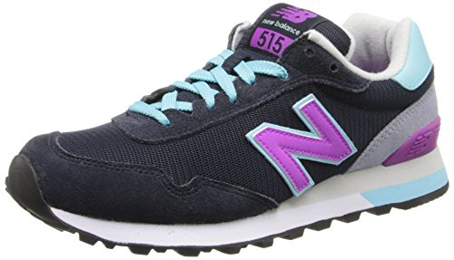 New Balance Classic Womens Wl515 Sneaker Stormy Night / Violet