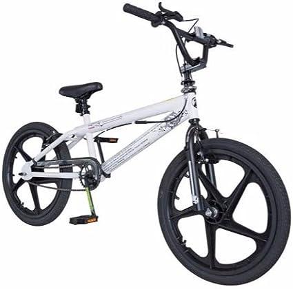 Zinc gravedad 20 pulgadas bicicleta BMX - Unisex: Amazon.es ...