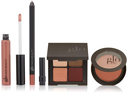 Glo Skin Beauty 4-Piece Day-to-Night Makeup Kit - Rich Plums | Desk To Datenight in Rebel Angel Mineral ()