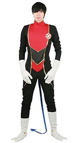 Nightcrawler Costume Deluxe Polyester Adult Full Set Cosplay