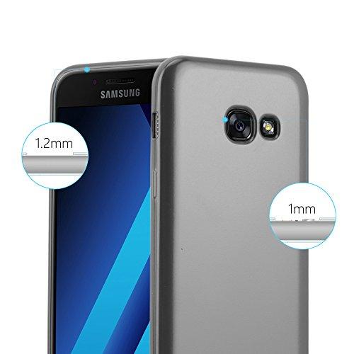 Cadorabo - Cubierta Protectora para >                                      Samsung Galaxy A3 (7) - Modelo 2017                                      < de Silicona TPU con Efecto Metálico Mate