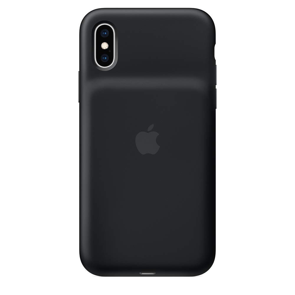 Apple Smart Battery Case for iPhone XS - Black (Renewed) by Apple