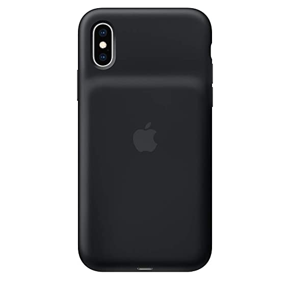 newest collection fed5e 4d833 Apple Smart Battery Case for iPhone XS - Black (Certified Refurbished)