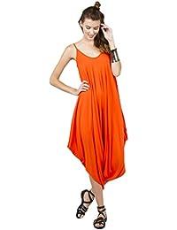 Amazon.com: Orange - Jumpsuits, Rompers & Overalls / Clothing ...