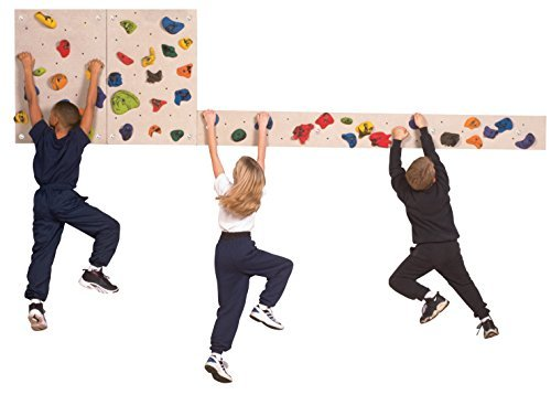 Sportime 9 in x 8 ft Traverse Climbing BoulderingBoard by Sportime (Image #1)