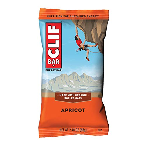 CLIF BAR – Energy Bar – Apricot – (2.4 Ounce Protein Bar)