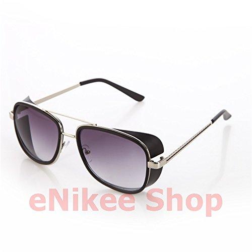 NEW!!!!Models Tortoise Sunglasses IRON MAN TONY Stark 3 Steampunk Men Mirrored Matsuda UV400 - Iron Stark Sunglasses 3 Man Tony