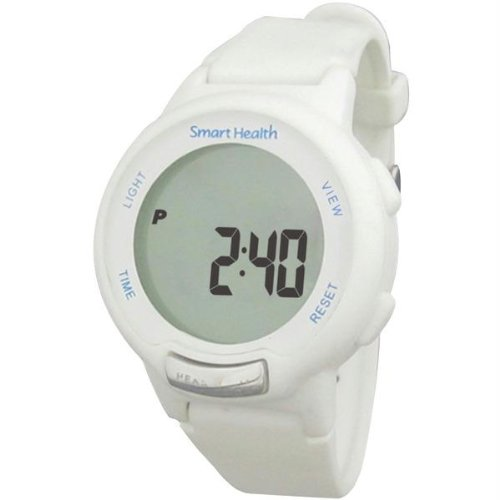 SMH20195 - SMART HEALTH SMH20195 Walking Fit Heart Rate Watch (Small, White)