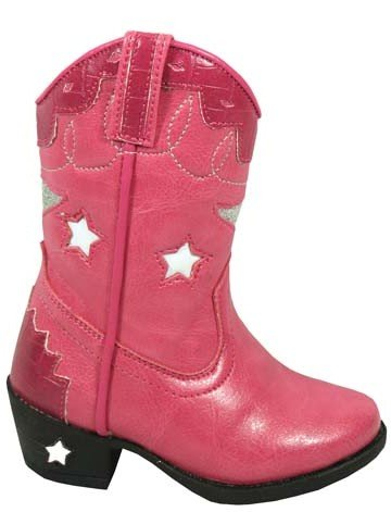 Smoky Mountain Baby Girls' Stars Light Up Boot