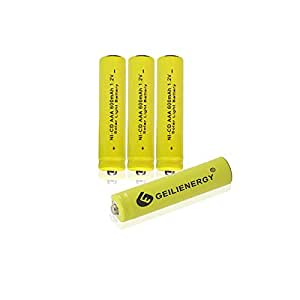 Amazon.com: GEILIENERGY Solar Light Batteries AAA NiCd AAA