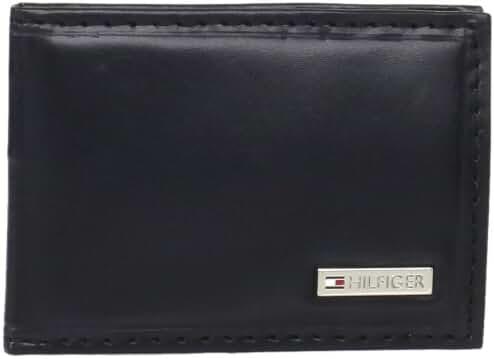 Tommy Hilfiger Men's Slim Front Pocket Wallet