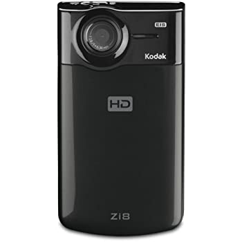 Kodak Zi8 Pocket Video Camera - Black (Discontinued by Manufacturer)
