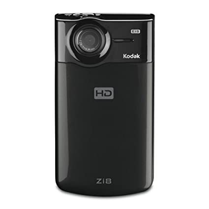 amazon com kodak zi8 pocket video camera black discontinued by rh amazon com Kodak Camcorder Color Kodak Camcorders On Sale